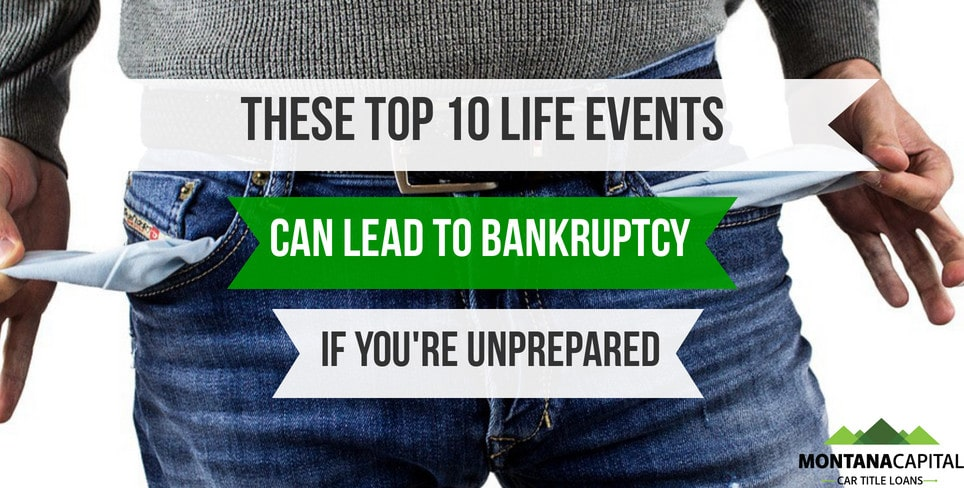 Personal Finance Guide: These Top 10 Life Events Can Lead to Bankruptcy If You're Unprepared