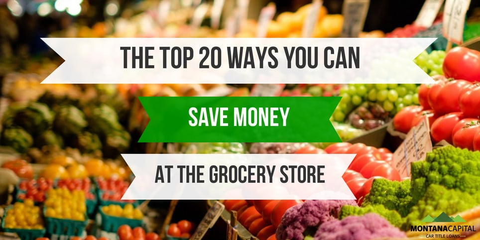 The Top 20 Ways You Can Save Money at the Grocery Store